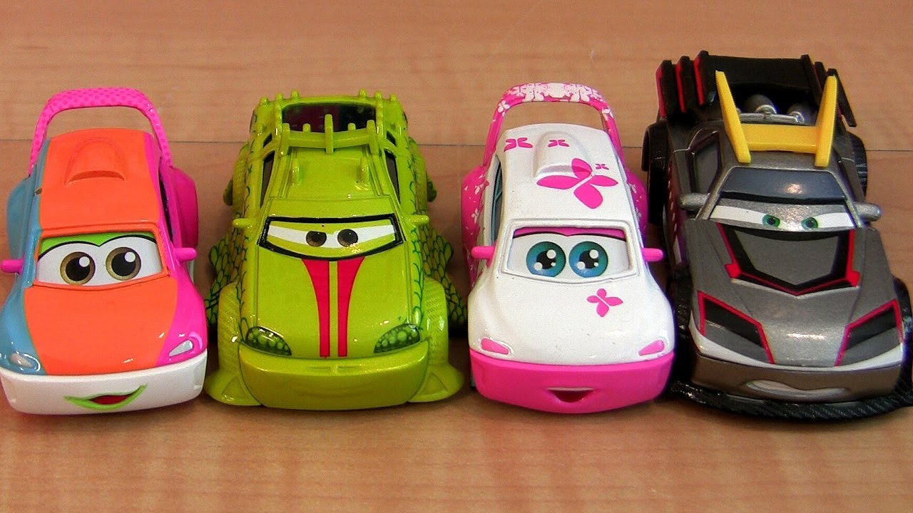 5 Cars Toon Tokyo Mater Diecasts