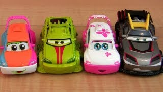 5 Cars Toon Tokyo Mater Diecast Kabuto, Kyandee, Patokaa Disney Pixar Mater
