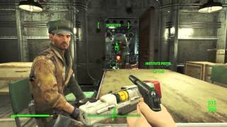 Fallout 4 (PS4) - Throwing Synth Relay Grenades On-Board the Prydwen