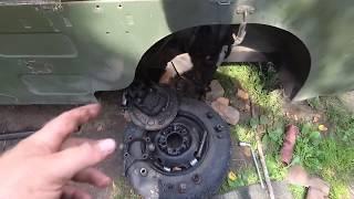 луаз 967 замена шкворни и рулевого наконечника (без опыта)