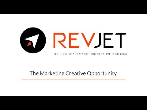 RevJet Chapter 1: The Marketing Creative Opportunity