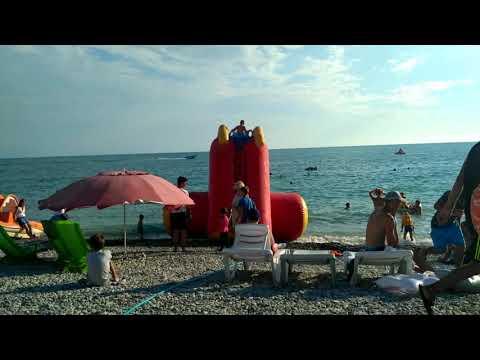 21 июня 2019 / Ольгинка / Сумбурный обзор пляжа )
