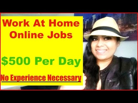 How To Make Money Online [Work at Home Make Money Online Jobs] Make Money Online Fast $500 per DAY