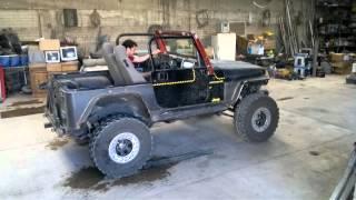 Calando el Jeep