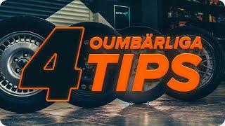 Hur byter man Bromsbacksats TOYOTA RAV4 - Bästa tips för byta Bromssystem