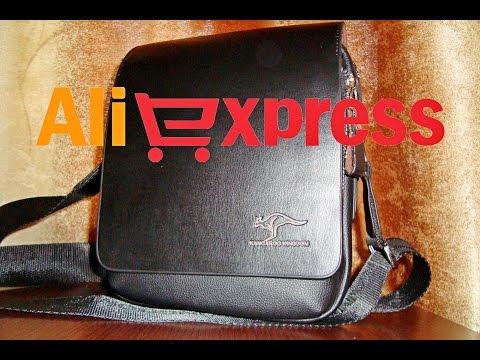 Мужская кожаная сумка через плечо Kangaroo Kingdom из Китая (aliexpress)