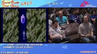 Ecco The Dolphin by Blueglass in 36:46 - SGDQ2014 - Part 27