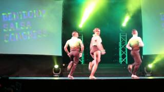 Performances at Benidorm Salsa Congress 2013 - Mambo en Clave