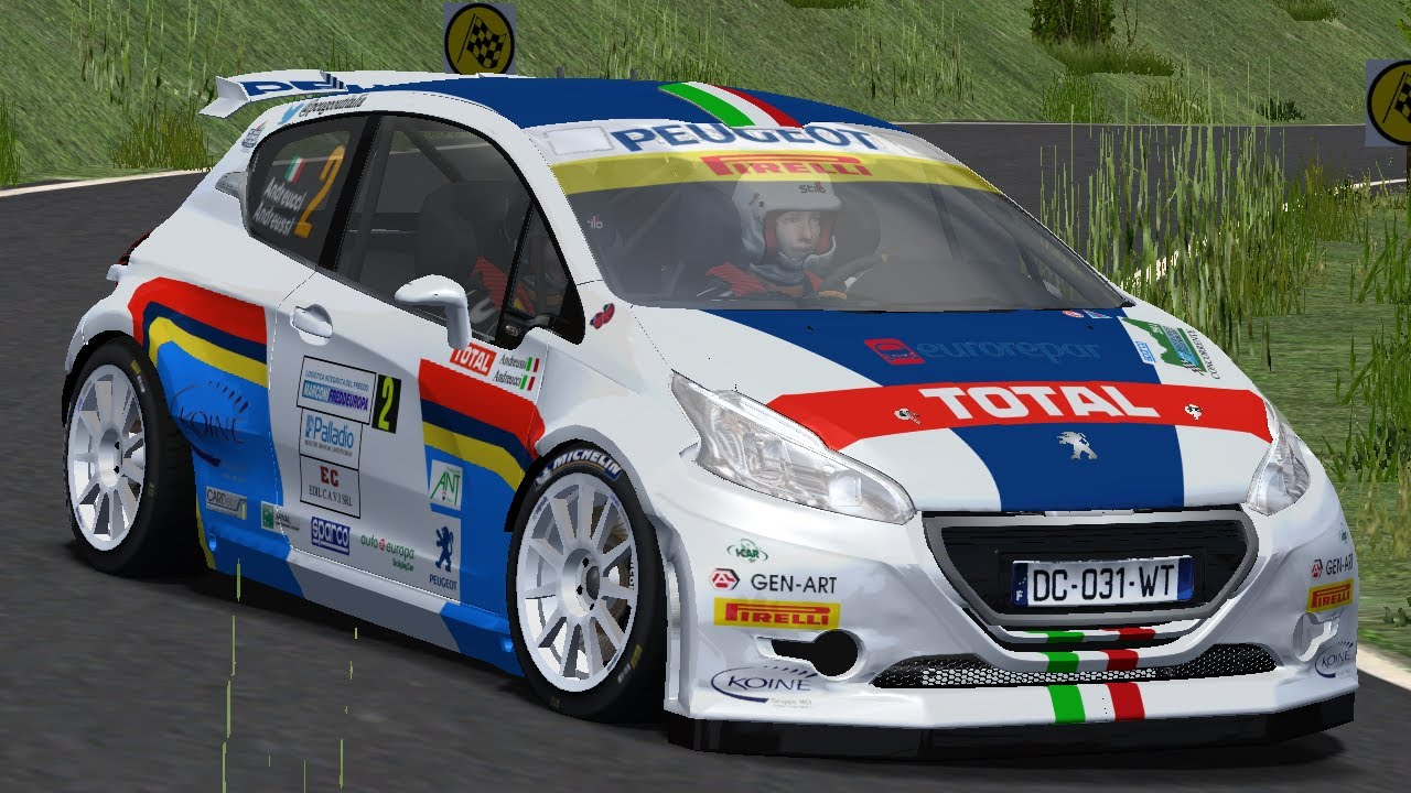 rfactor peugeot 208 t16 r5 andreucci rally il ciocco 2014 youtube. Black Bedroom Furniture Sets. Home Design Ideas