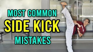 3 Most Common Side Kick Mistakes