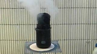 Demonstration of the hygroscopy of sulfuric acid