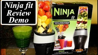 Ninja Fit Personal Blender Review and Demo