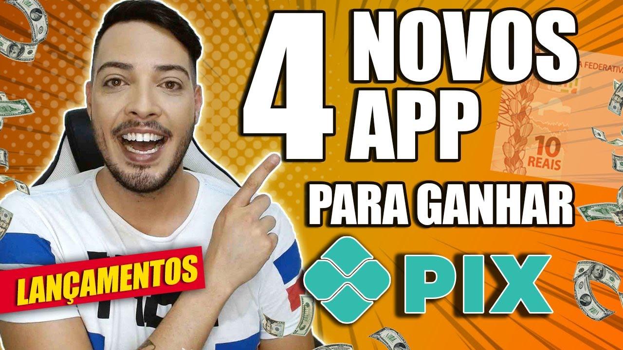 APPs PARA GANHAR DINHEIRO NO PIX ASSISTINDO VÍDEOS