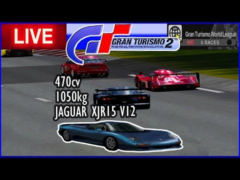 JAGUARZAO V12 no Campeonato ALL STARS - Gran Turismo 2 - AO VIVO thumbnail