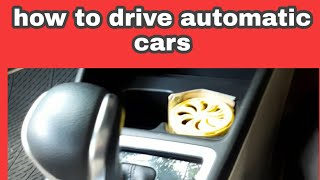 How to drive automatic car review in Telugu
