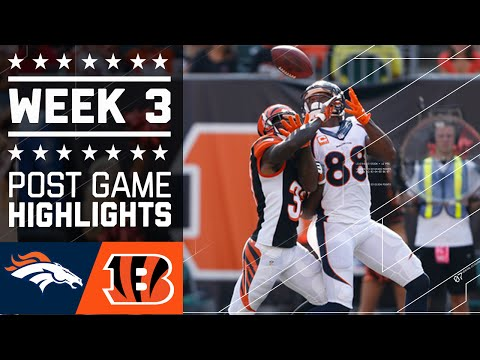 Broncos vs. Bengals | NFL Week 3 Game Highlights
