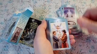 Обзор мини колод Таро Белой и Черной Магии и Таро Ангелов-хранителей