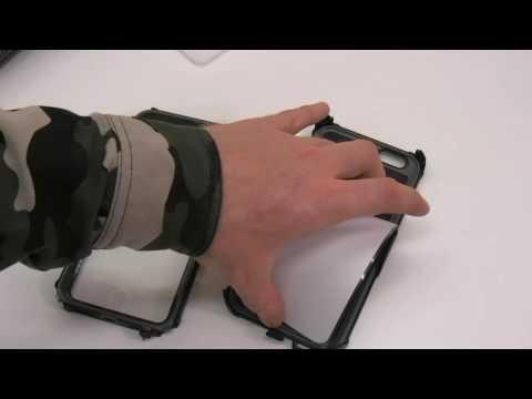 Presentazione custodia originale Armor-X MX-AP5-BK impermeabile per iPhone 6 e 6S Plus 5.5
