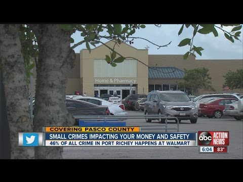Walmart major source of crime in Port Richey
