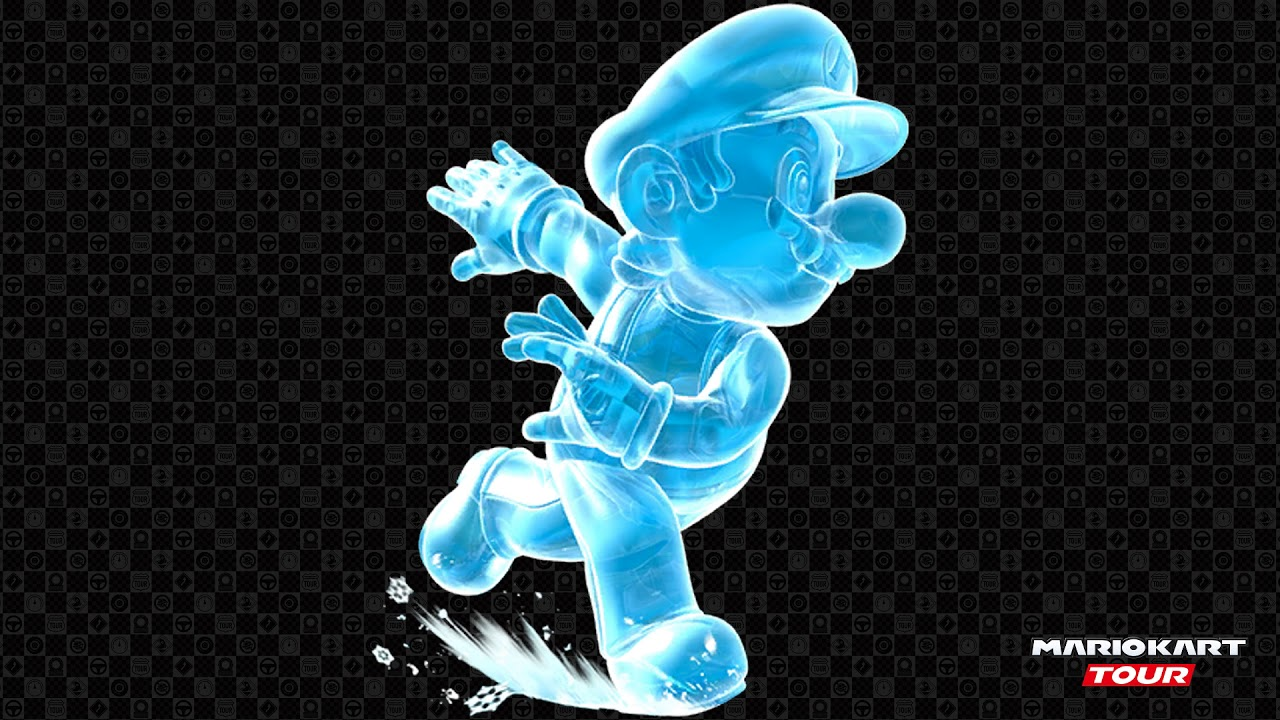 Mario Kart Tour Ice Mario S Voice Lines Youtube