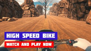 High Speed Bike Simulator · Game · Gameplay