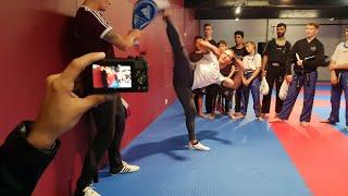 Todays Taekwondo Seminar - Tek Kickboxing Nottingham 2018 #1