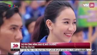 Dự án cộng đồng bảo vệ môi trường của Hà Thu tại Hoa hậu Trái đất | VTV24