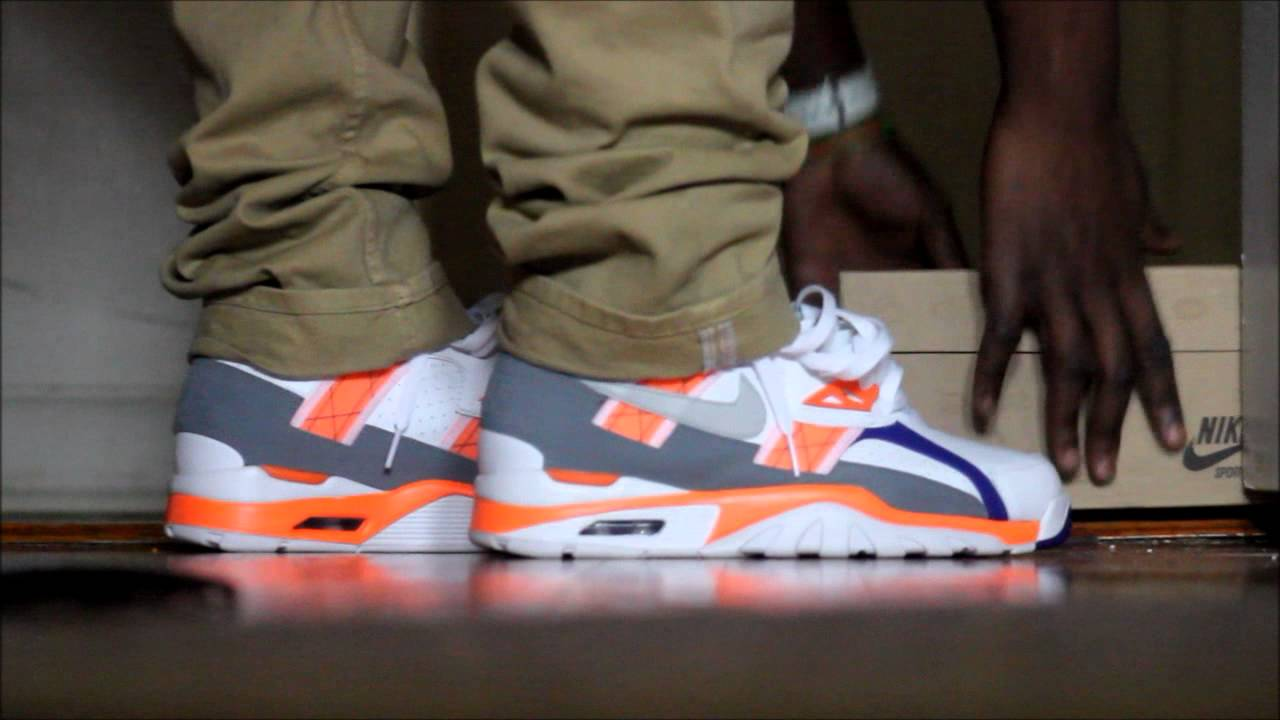 air trainer max 91 on feet