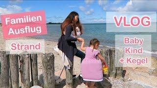 ERSTER FAMILIEN AUSFLUG MIT BABY 3 WOCHEN ALT - VLOG | Mamiseelen
