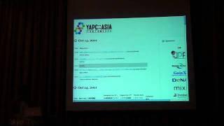 YAPC::Asia 2011 前夜祭 OP