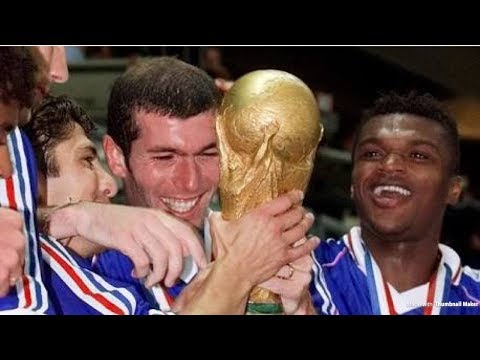 "World Cup 1998 France And Ricky Martin Song ""Ale Ale Ale"""