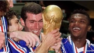 """World Cup 1998 France And Ricky Martin song """"Ale ale ale"""""""