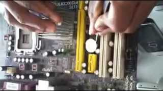 How to Clear the CMOS & Reset Bios