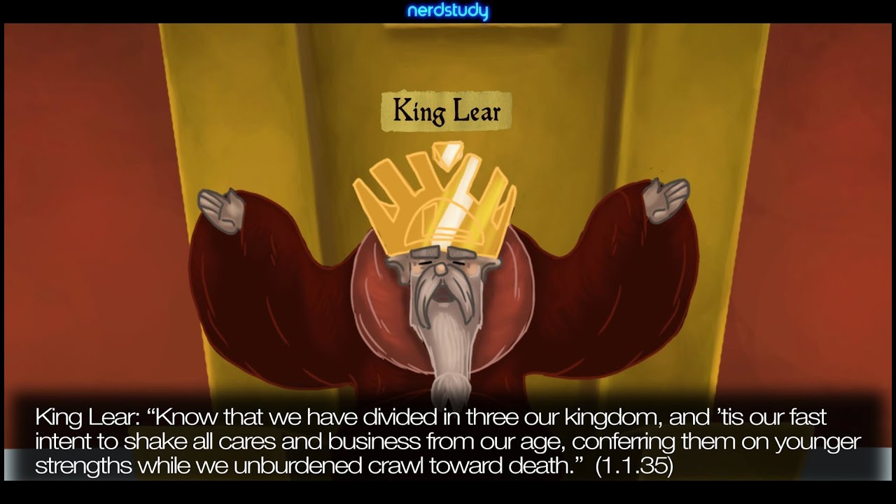overview of king lear part 1 Research and education association (rea) no part of this content may be reproduced in any form without the permission of rea  ♦ act iv, scene 1: summary and analysis 7 king lear 1 ♦ act iv, scene 2: summary and analysis ♦ act iv, scene 3: summary and analysis  finds refuge in a hovel for the king, who has been driven king lear.