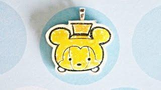 Watch Me Shrink Plastic/Resin: Halloween Mickey Tsum Tsum