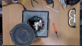 Саморобна портативна АС -ремонт (bluetooth від IcStation)
