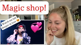 """First Time Reaction to """"Magic Shop"""" by BTS!"""