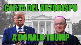 CARTA del ARZOBISPO a DONALD TRUMP
