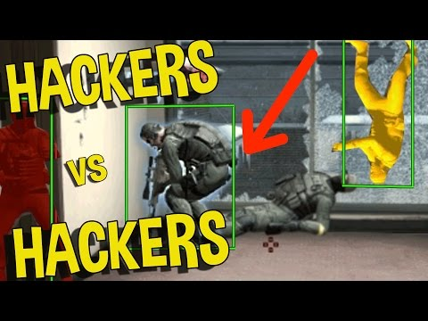 CS:GO - HACKING TEAM VS HACKING TEAM WTF!!! (FUNNY MOMENTS)