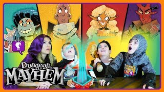 SURPRISE WIZARD ADVENTURE! Family Fun Dungeon Mayhem Game Time with HobbyKidsTV!