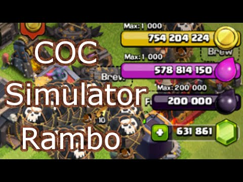 Clash of Clans Simulator - Unlimited Resources - Anti-Ban - Private Server.