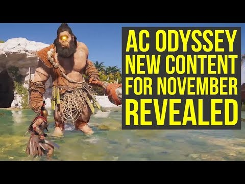 Assassin's Creed Odyssey DLC - Mythical Creature, LEVEL CAP UPGRADE & More In November (AC Odyssey)