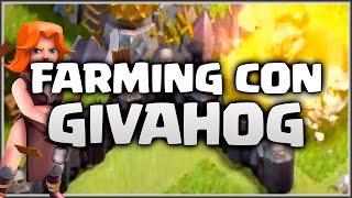 FARMEANDO CON GIVAHOG - NEWSENSE 1.0 - A por todas con Clash of Clans - Español - CoC