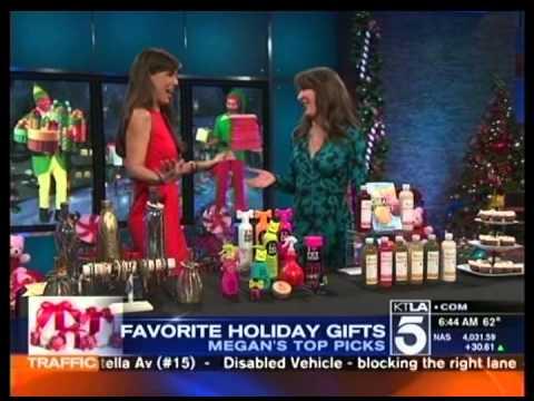 Ritual Wellness on KTLA Morning News for Christmas Shopping