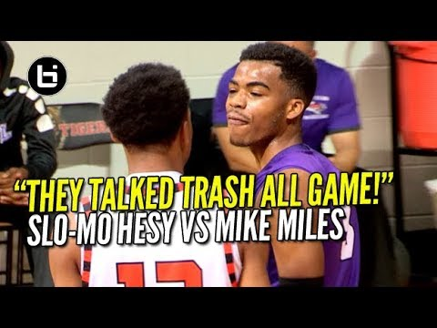 Download Youtube: THEY TALKED TRASH ALL GAME! SLO-MO HESY KEN MILTON VS MIKE MILES
