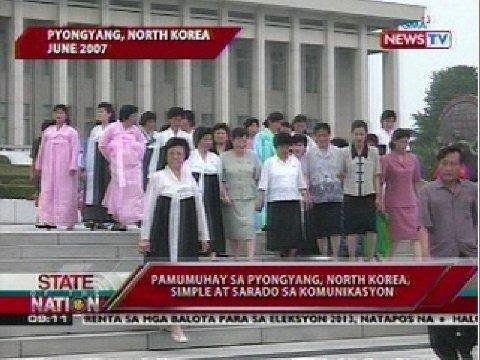 SONA: Pamumuhay sa Pyongyang, North Korea, simple at sarado ng komunikasyon