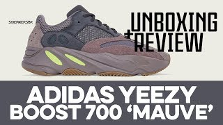 8d3c6c984b1c Adidas Yeezy Boost 700 Mauve Sneaker Pickup and Unboxing - Video Más ...