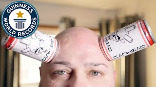 Can Head's skin sucks... literally - Guinness World Records