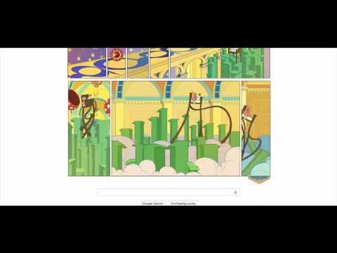 Google Animated Doodle -Little Nemo in Slumberland