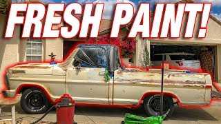 I PAINTED My F100! *New Color and Patina Repair*